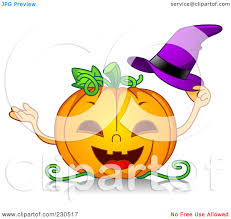 royalty free rf clipart illustration of a happy halloween