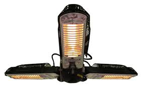 Propane Patio Heaters Reviews by Fire Sense Umbrella 1500 Watt Electric Hanging Patio Heater