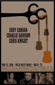 cody canada charlie robison and chris knight acoustic show