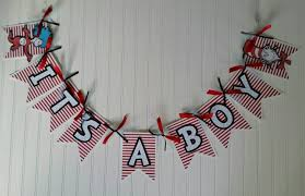 its a boy seuss name banner seuss baby shower cat in hat