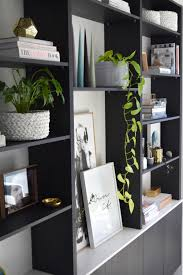 styling a bookshelf shelf styling tips and tricks