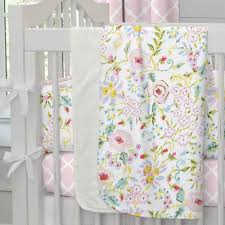 Pink And Gray Shower Curtain by Pink And Gray Primrose Crib Blanket Carousel Designs