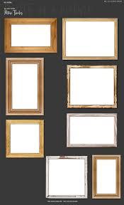 light wood picture frames frame creator png version w bonus product mockups creative market