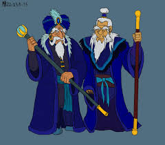 the blue wizards by mara999 on deviantart