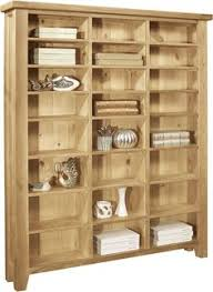 rustic narrow 6 shelf cd dvd storage with drawer wood working