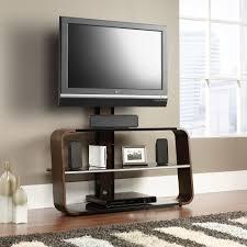 tv stands with flat panel mounts sauder select corsair tv stand with mount 413960 sauder