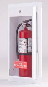 semi recessed fire extinguisher cabinet classic fire extinguisher cabinet surface mounted