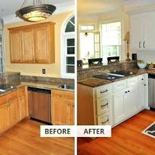 Reface Kitchen Cabinets Diy Reface Kitchen Cabinets Before And After Smarttechs Info