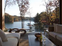 narrow lot lake house plans baby nursery lake front home designs best lake house design