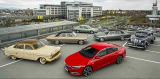 opel insignia 2017 wagon eight decades of opel flagships from the 1937 admiral to the 2017