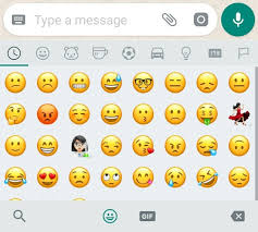 emojis android how to use whatsapp emojis search on android