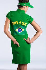 Flag Dress Golf I Brazil Flag I Golf Dress Sun Visor And Carrybag