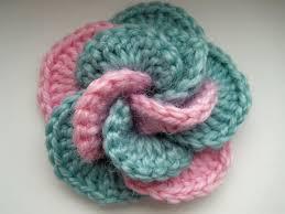 Crochet Designs Flowers Crochet Flower Tutorial Youtube