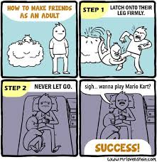 How To Create A Meme Comic - how to find friends in a new city teleport blog