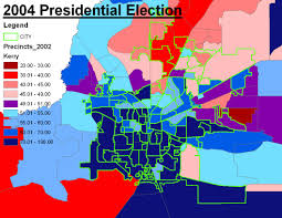 2004 Presidential Election Map by Election Mattsmaps