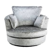 Gray Velvet Chesterfield Sofa by Crushed Velvet Furniture Sofas Beds Chairs Cushions