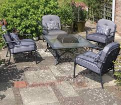 patio sets with fire pit table uk home interior and exterior