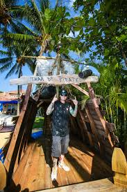 photos the vanilla ice project diy pirate ship splash pad from the vanilla ice project