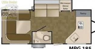 heartland mpg floor plans 2011 heartland mpg 185 travel trailer prescott valley az little dealer