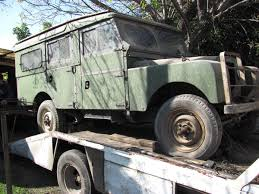 land rover safari roof 1956 land rover series 1 107 station wagon barn find revivaler