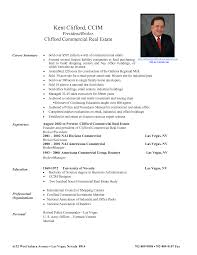 Job Resume Samples For College Students by Sample Real Estate Resume Sample Resume Format