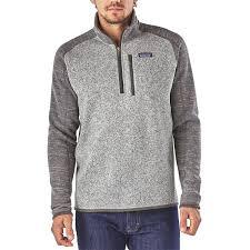patagonia men u0027s better sweater quarter zip fleece