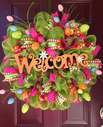 Pinterest Easter Front Door Decorations by 10 Best Wreaths Images On Pinterest Easter Wreaths Holiday