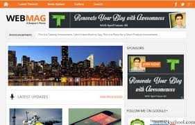 50 most beautiful free blogger templates