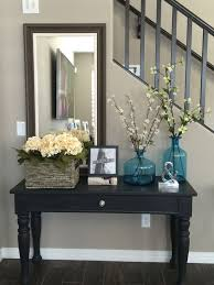 entry way table decor entrance table and mirror design best entry decorations on