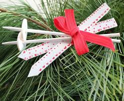 Very Large Christmas Decorations by Scandinavian Ski Popsicle Stick Ornaments Allfreechristmascrafts Com