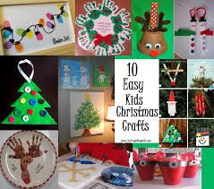10 easy kids christmas crafts diy do it yourself projects