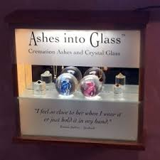 ashes into glass ashes into glass funeral directors michael miller partners
