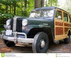 vintage willys jeep 1949 willys jeep station wagon editorial stock image image 20784669