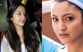 2 indian celebrity without makeup before and after 6