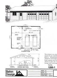 shop plans and designs two car garage with shop plan no 1200 1 40 x 30 by behm design