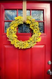 9 examples of springtime wreaths to make for your home contemporist