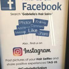 gabriella u0027s hair salon home facebook