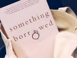 Emily Giffin Something Blue Something Borrowed Book Emily Giffin