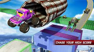 monster trucks nitro download monster truck stunt impossible tracks android apps on google play