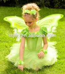 2014 fancy children performance wear dress with butterfly