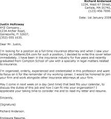 brilliant ideas of sample cover letter for job in law firm for
