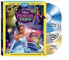 amazon princess frog disc combo blu ray