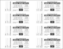 raffle tickets templates expin memberpro co