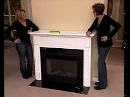 Electric Fireplace With Mantel How To Makeover Your Home Using A Fireplace Mantel And Electric