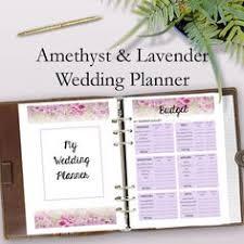 Wedding Planning Organizer Wedding Planner Book Printable Wedding Planning Book Printable