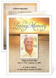 Funeral Program Maker Jesus Cross U0027 Bifold Funeral Card Template For Funeral Memorial