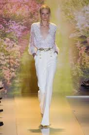 white wedding jumpsuit 28 gorgeous wedding pantsuits and jumpsuits for brides deer