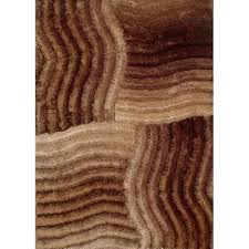 Area Rugs Brown Rug Factory Plus Shaggy 3d 311 Gold Brown Area Rug Warm Fuzzies