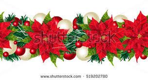 christmas wreath vector border free vector art at vecteezy