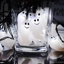 ghost shape halloween lights backyard party string lights 10 20